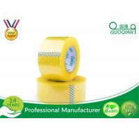 Wholesale Security Adhesive BOPP Packaging Tape , Waterproof Sticky Tape Long Lasting from china suppliers