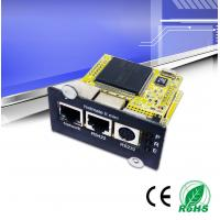 Wholesale SNMP Ups Network Management Card , SNMP Card For Ups Built - In WEB Server from china suppliers