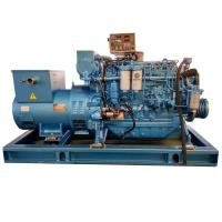 Wholesale Water Cooling Rated Marine Diesel Generator 90KW with Three Phase Electric Start from china suppliers