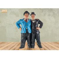 China Vintage Home Decor Polyresin Statue Figurine Resin Brother Sculpture Tabletop Figures on sale
