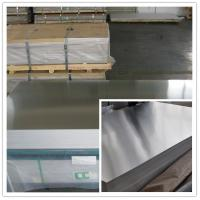 Quality Professional DC / CC Mill Finish Aluminum Sheet with 1100 1050  3003 3105 5052 for sale