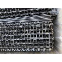 Wholesale 304/316 SS Flat Wire Conveyor Belt / Conveyor Chain Belt 0.5mm-3mm Thickness from china suppliers
