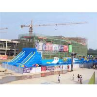 Quality Customize PVC Adult Dragon Giant Inflatable Slide Blow Up Slip And Slide for sale