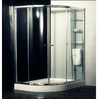 Wholesale Custom Glass Door Shower Enclosures , Space Saving Bathroom Shower Cabinets from china suppliers