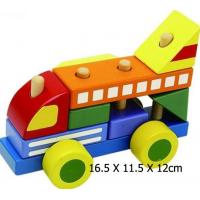 Wholesale Wooden Toy/Bricks/Building Blocks (HSG-T-082) from china suppliers