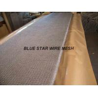 Wholesale Square Wire Mesh Mist Eliminator Stainless Steel / MONEL Demister Pad In Air Conditioner from china suppliers