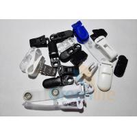 Wholesale Plastic ABS Safe Pacifier Suspender Clips Strap Clips Lanyard Accessories Black / White / Blue from china suppliers