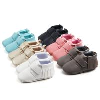 Wholesale New style microfiber Leather PU Tassel Casual outdoor infant shoes for baby from china suppliers
