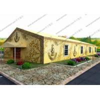 China Colorful Painting Decoration Heavy Duty Event Tents PVC Cover For Outdoor Hajj Event for sale