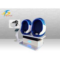 Wholesale Large Space 9D VR Egg Chair With Dynamic Seat , Virtual Reality Cinema from china suppliers