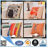China Black / Red / Blue  Home Textile Products Decorative Cushion Cover on sale