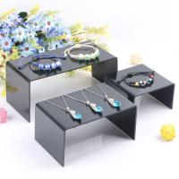 Wholesale Cheap Clear Plexiglass / Acrylic Jewelry Display Stand Can Print Logo from china suppliers