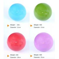 China Ecofriendly Weighted Toning Ball , PVC Pilates Weighted Balls For Fitness on sale