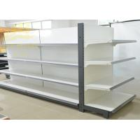 Wholesale Double Side Commercial Steel Racks Hypermarket, Slanted Arms Cold Rolled Steel from china suppliers