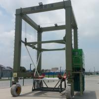 Wholesale Hydraulic Boat Lifting Rubber Tire Ship Gantry Crane ISO / CE / SGS Certification from china suppliers