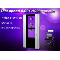 Different Speed Settiing Electronic Universal Testing Machine For Rubber