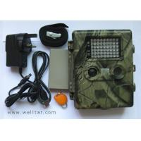 Buy cheap 10mp trail scouting camera with 54 LED and laser point light _trail camrechargeable lithium battery from wholesalers
