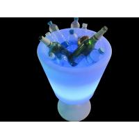 Wholesale Illuminated Colour Changing Wine Cooler Large Capacity Blue Color from china suppliers