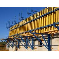 Reliable concrete wall Formwork Scaffolding System with electrophoretic painted for sale