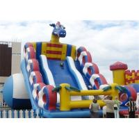 Wholesale 6.5M Height Commercial Inflatable Slide , Inflatable Rooster Slide With Attractive Design from china suppliers