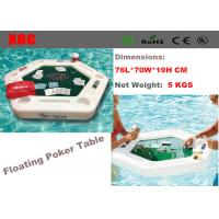 Wholesale Outdoor Amusement Park Equipment / White Poker Table For Water Park from china suppliers