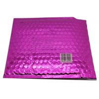 Wholesale Waterproof Pink Metallic Bubble Mailers Large Volume Puncture Resistant from china suppliers