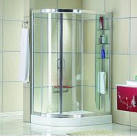 Wholesale Automatic Curved interior Home frosted glass frameless shower doors from china suppliers