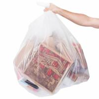 China Low Density Commercial Garbage Bags / Trash Bags 45 Gallon 1.2 Mil 40 X 46 on sale