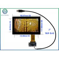 """Wholesale USB 7"""" Capacitive Touch Screen ITO Glass Cover Lens Multi-Touch Panel For Intelligent Appliances from china suppliers"""