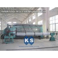 Wholesale Automatic Hexagonal Wire Netting Weaving Machine / Gabion Mesh Production Line from china suppliers