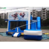 Wholesale 6 in 1 Wet And Dry Slide Inflatable Combo With Theme Panels For Children from china suppliers