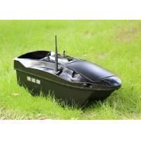 China Autopilot bait boat battery power and ABS plastic Black Upper Hull on sale