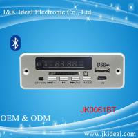 China JK0061BT  Bluetooth aux sd card usb fm module mp3 player circuit board on sale