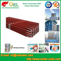Power Plant CFB Boiler Economizer Silver Boiler Spare Part For Petroleum