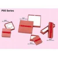 Wholesale Paper Jewelry Boxes, Cardboar Jewellery Packaging Box With Yarn Ribbon from china suppliers