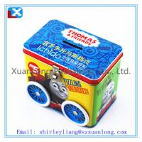Wholesale square metal tin with lid for cookies from china suppliers