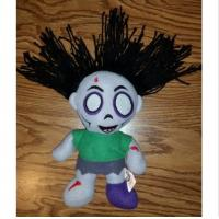 China Customized Size Halloween Plush Toys With Dead Scary Zombie Girl Shaped on sale