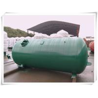 Wholesale Industrial Compressed Oxygen Air Storage Tanks , Liquid Oxygen Portable Tanks With Bracket from china suppliers