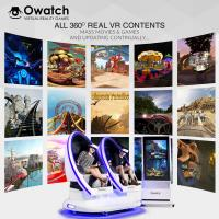 Wholesale Owatch-2018 Hot selling Shooting  Cinema Virtual Reality 9D VR Chair-3rd Cinema 360 degree from china suppliers