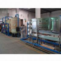 Wholesale 8,000L/hr UF Mineral Water Machine with Hollow Fiber Membrane and Booster Pump from china suppliers