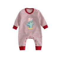 Wholesale Cute Printed Cotton Infant Baby Clothes Long Sleeve Baby Daily Clothes from china suppliers