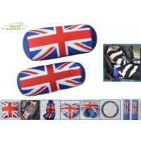 Wholesale Column Shape UK Flag Soft Polyester car seat neck pillow with soft PP cotton from china suppliers