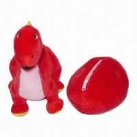China Plush Toys, Stuffed Toy Egg Can be Changed to Plush Dragon on sale