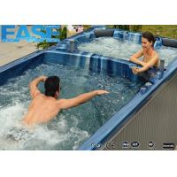 Wholesale Portable Whirlpool Massage Outdoor Bathtubs, 5 x Seats + 1 x Full Body Lounge + Swim Area from china suppliers