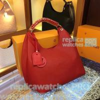 China Top Quality Clone LV Red Taurillon lv bags Leather Ladies lv handbag Shoulder Bag for sale