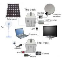 Buy cheap 100W 60AH Solar power home system  for TV/ Satellite receiver , lighting,fan for africa from wholesalers