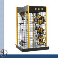 Wholesale Tooling Wall grid display / metal display stand / Tooling display rack with casters / Tooling display stand from china suppliers