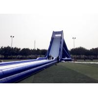 Wholesale Blue Durable Adult Giant Inflatable Slide Satety Large Blow Up Water Slides from china suppliers