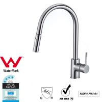Wholesale Cupc Lead Free Brass Sink Pull out Mixer Tap 360 Swivel No Corrosion from china suppliers