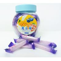 Wholesale Blueberry Flavor Healthy Hard Candy / Magic Stick Sweet 4g * 70pcs * 30bottles from china suppliers